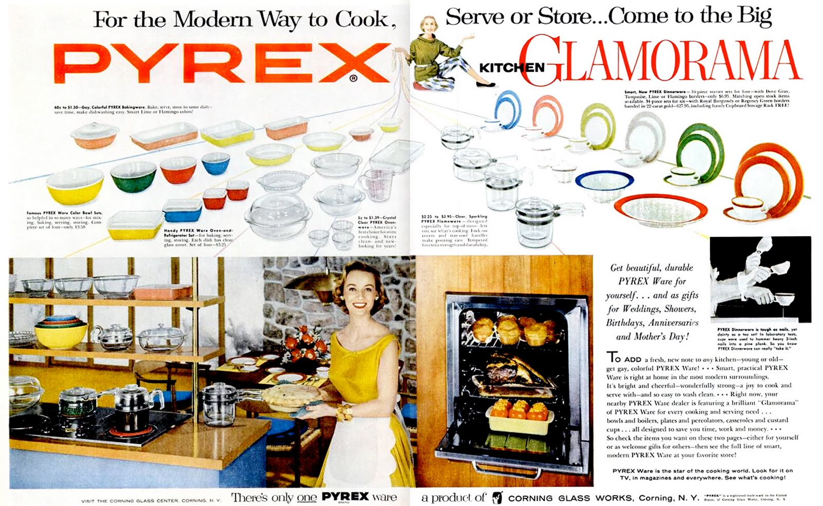 A Pyrex Thanksgiving
